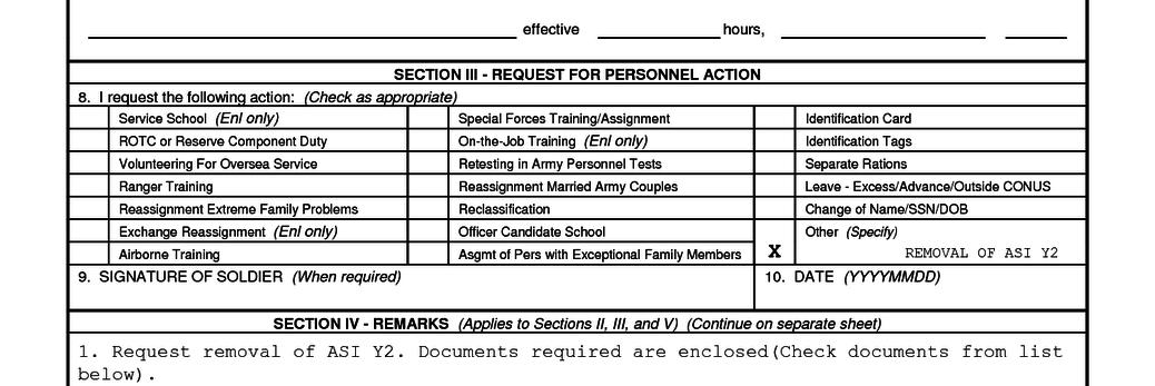 DA Form 4187