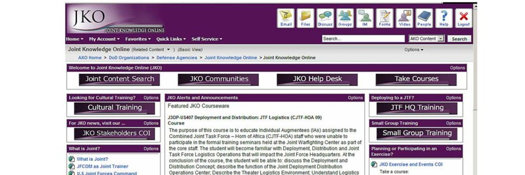 JKO (Joint Knowledge Online)