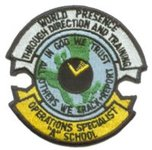 """Operations Specialist """"A"""" School"""