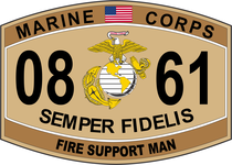 Fire Support Man