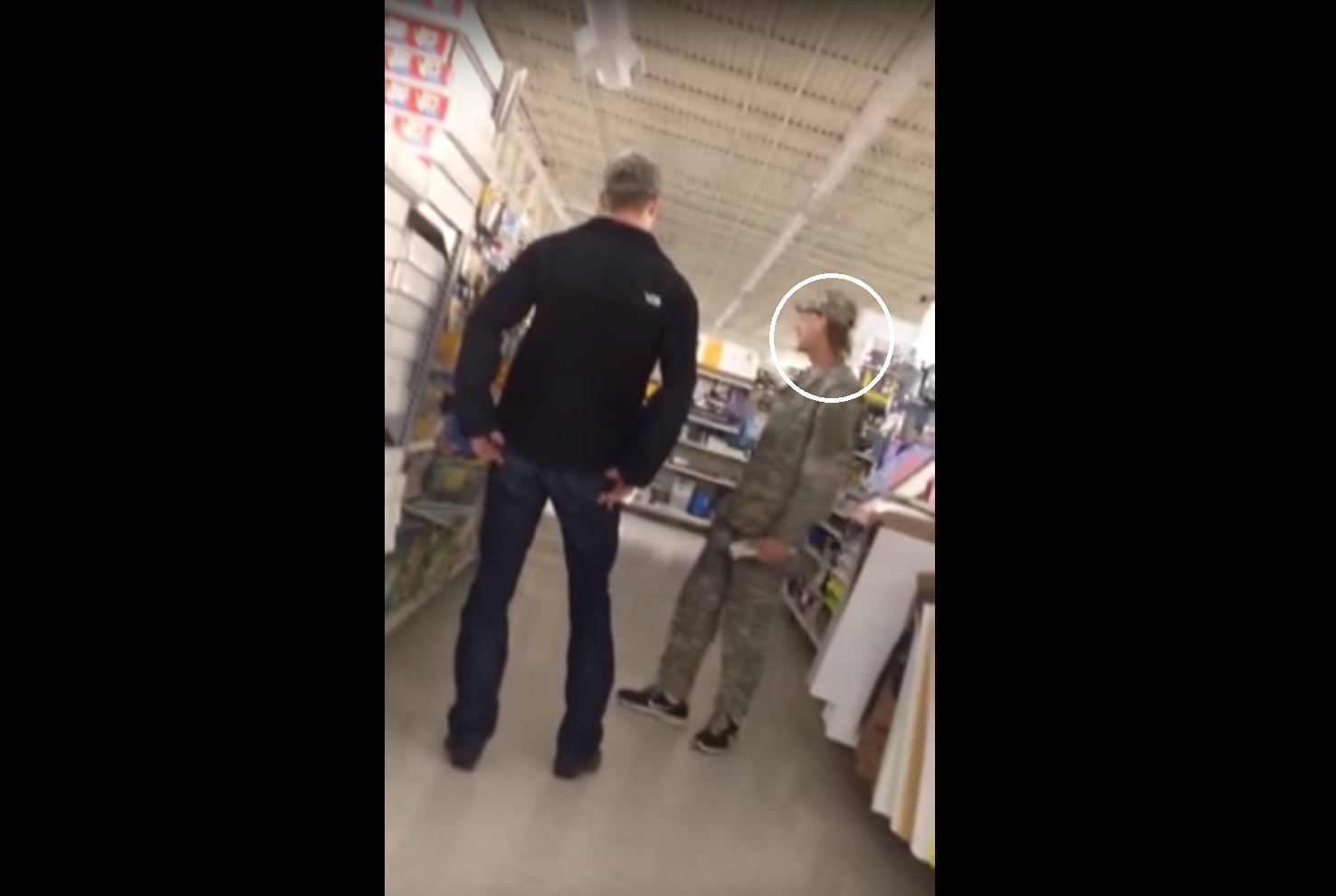 Fake Army Seal With Mullet Haircut Confronted At Walmart Rallypoint