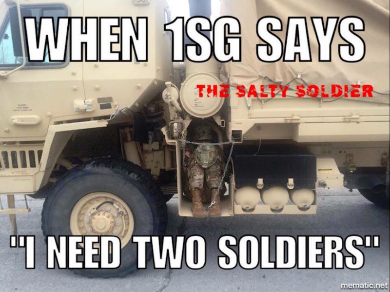 Funniest Memes Of The Week : The funniest military memes of the week rallypoint