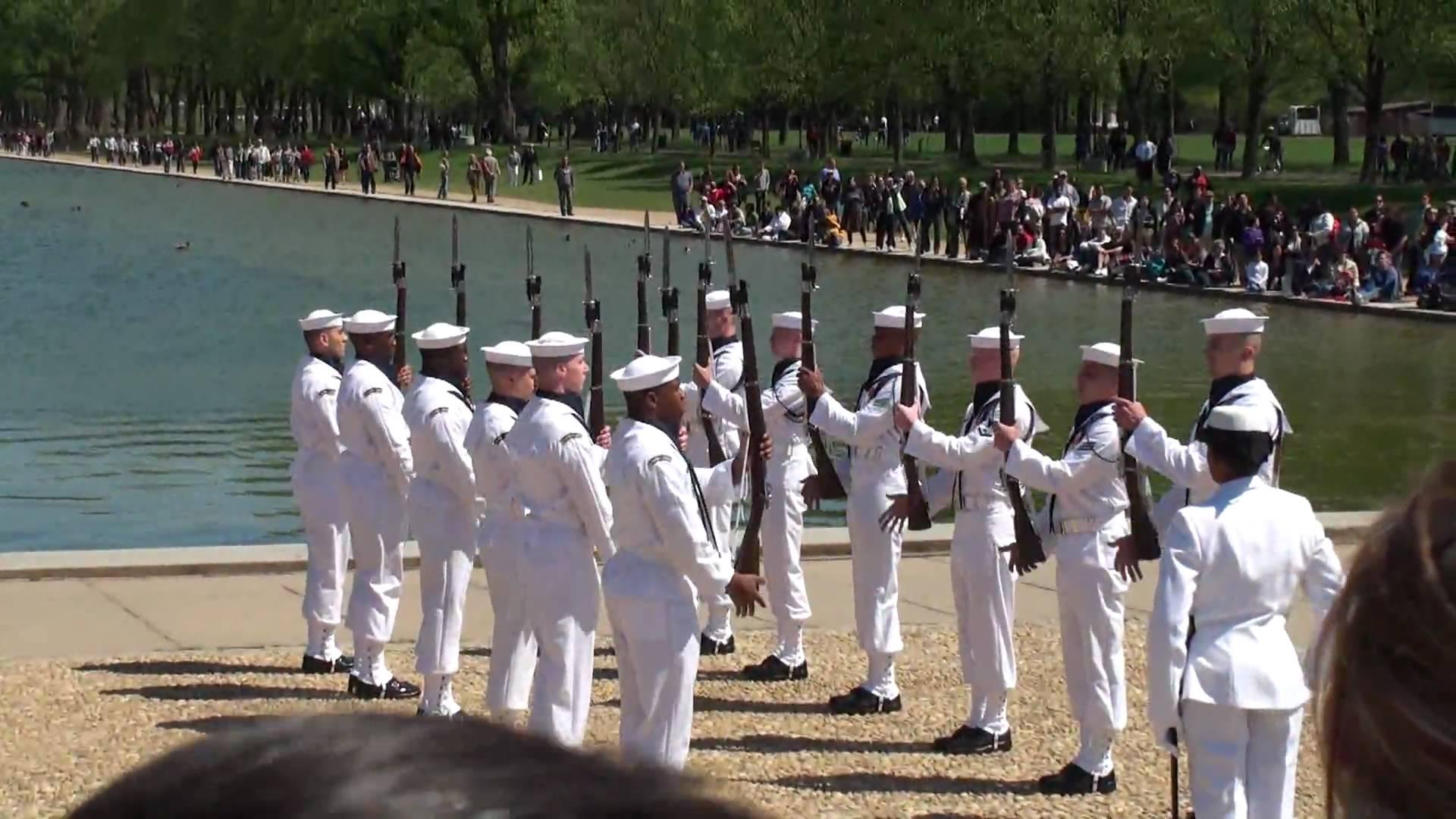 Us Navy Ceremonial Guard 2010 Navy Drill Team Rallypoint - Us-navy-ceremonial-guard