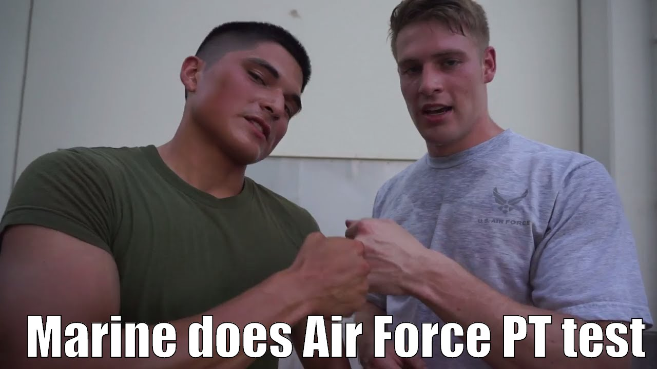 MARINE DOES AIR FORCE PT TEST | RallyPoint