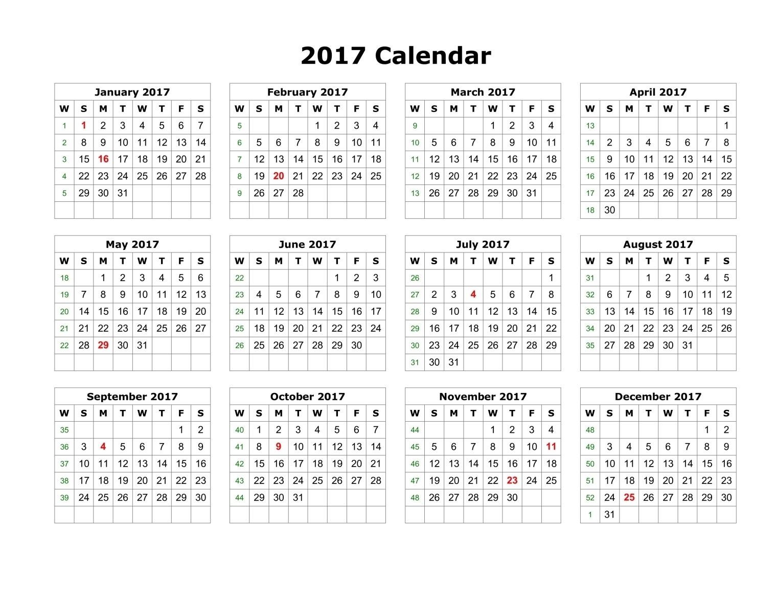 Original Gregorian Calendar