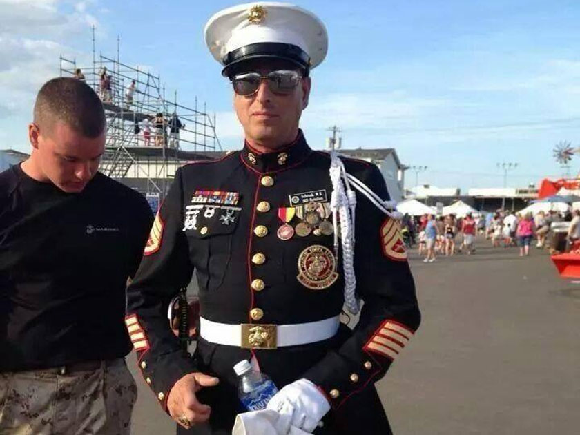 this might be the worst fake marine of all time rallypoint