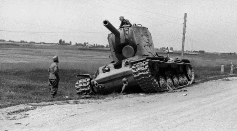 Image result for The Russian KV Tank and Its Crew That Stopped The German Advance for a Full Day