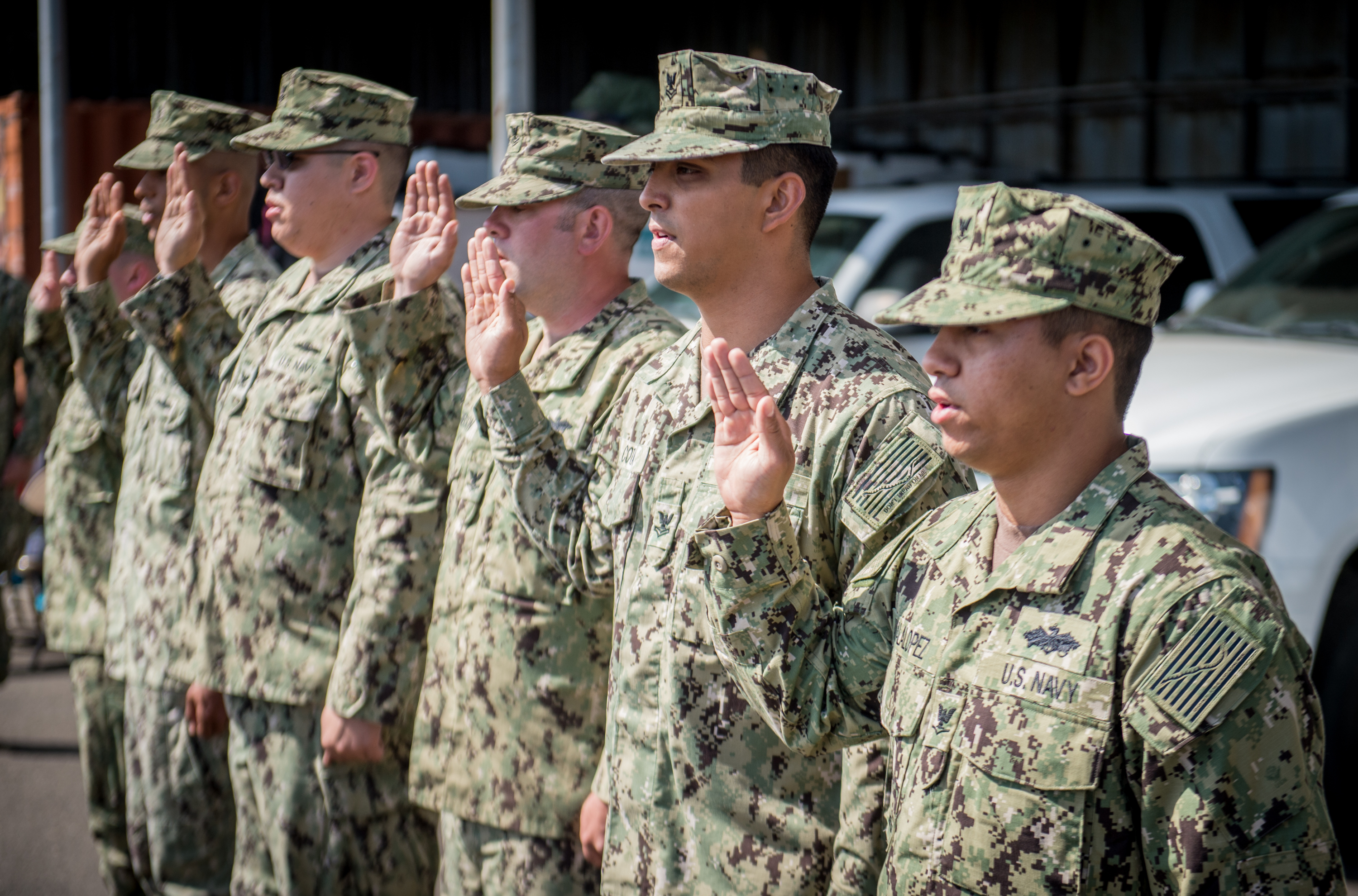 Mabus to Navy: OK to keep NWU Type IIIs after deployment