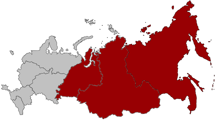 What Continent is Russia in Europe or