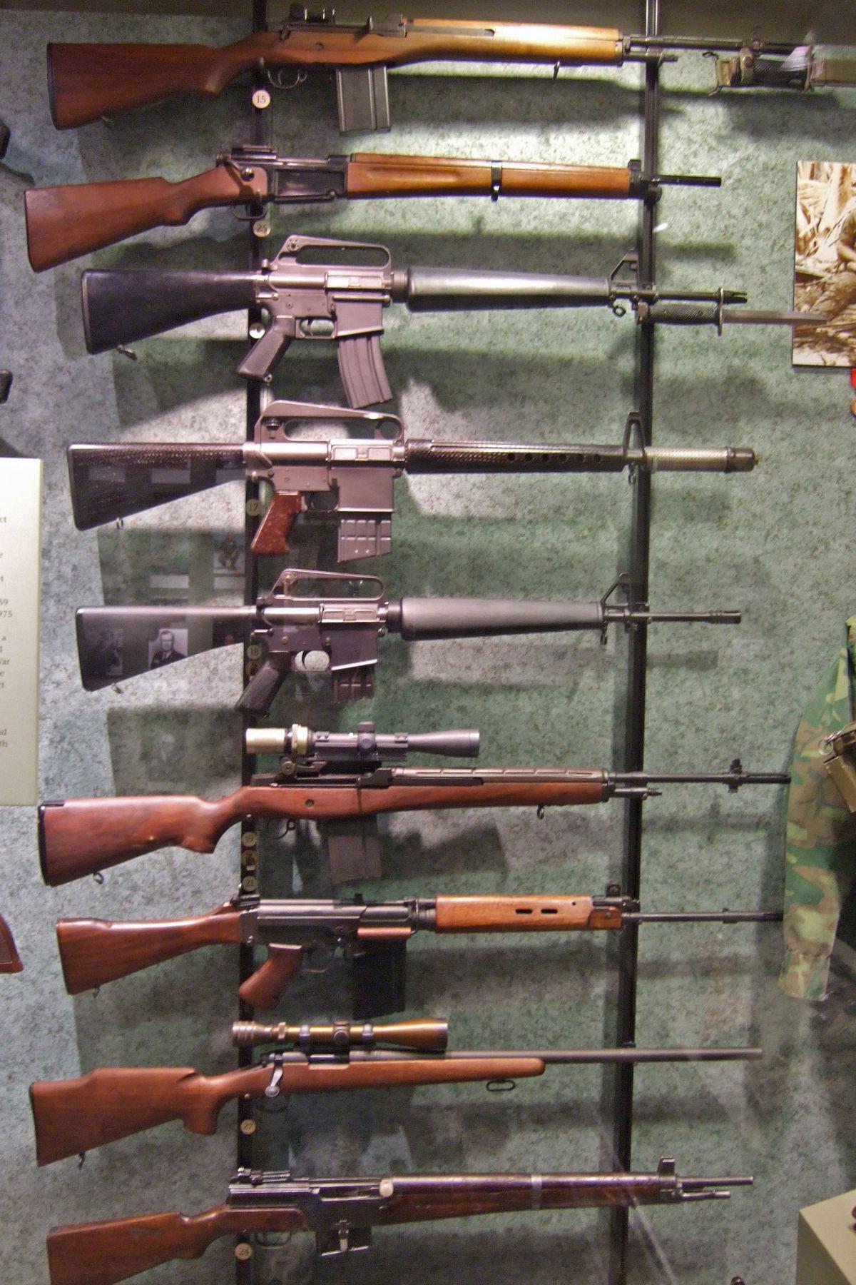 Weapons of the Vietnam War   ~*Photography Originally