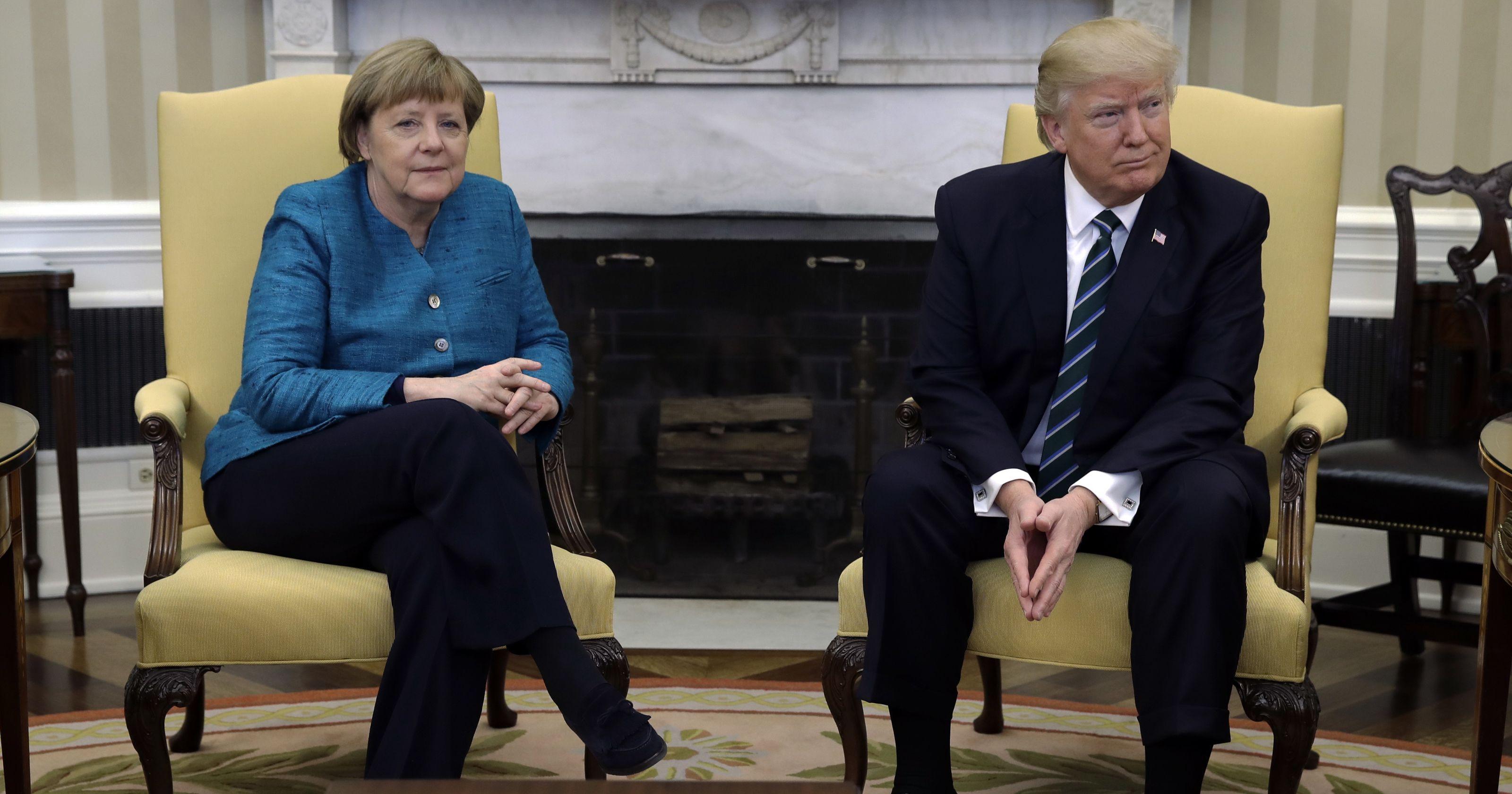 можете фото трамп меркель встреча тогда