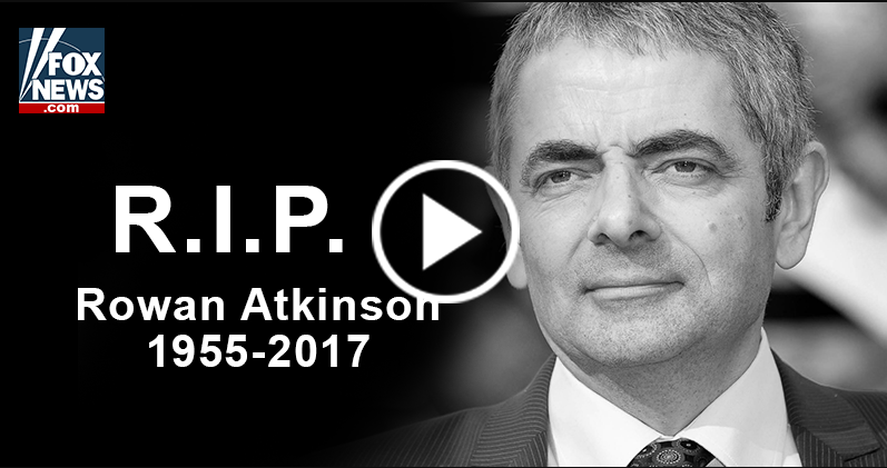 Rowan Atkinson Car Accident March