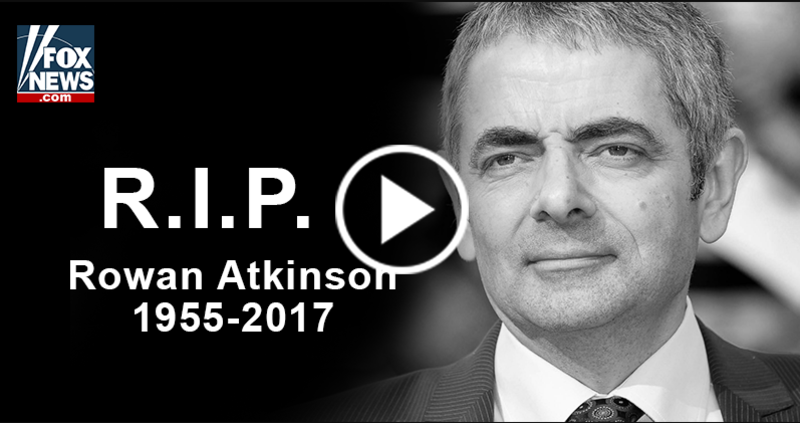 Rowan Atkinson Car Accident March