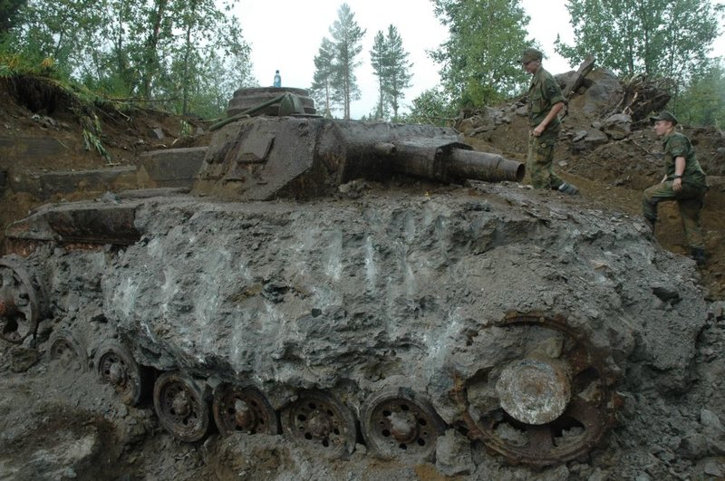 German Panzer Tank Relics Recovered in Europe - Vantiques