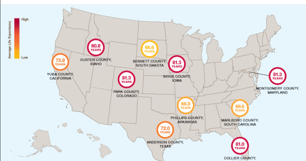 Does Where You Live Affect How Long You Live Rallypoint