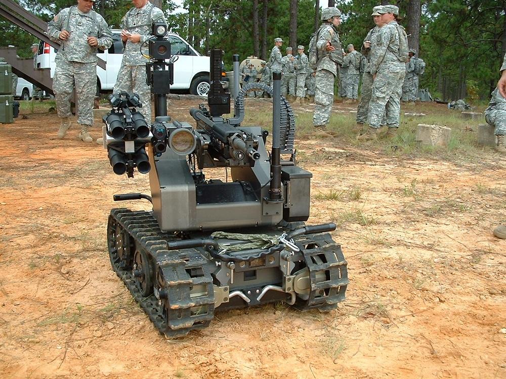 military robots - 1000×750