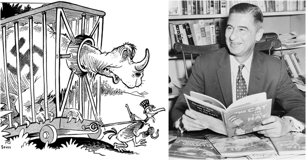 Dr  Seuss Propaganda: 9 Shocking World War II Propaganda