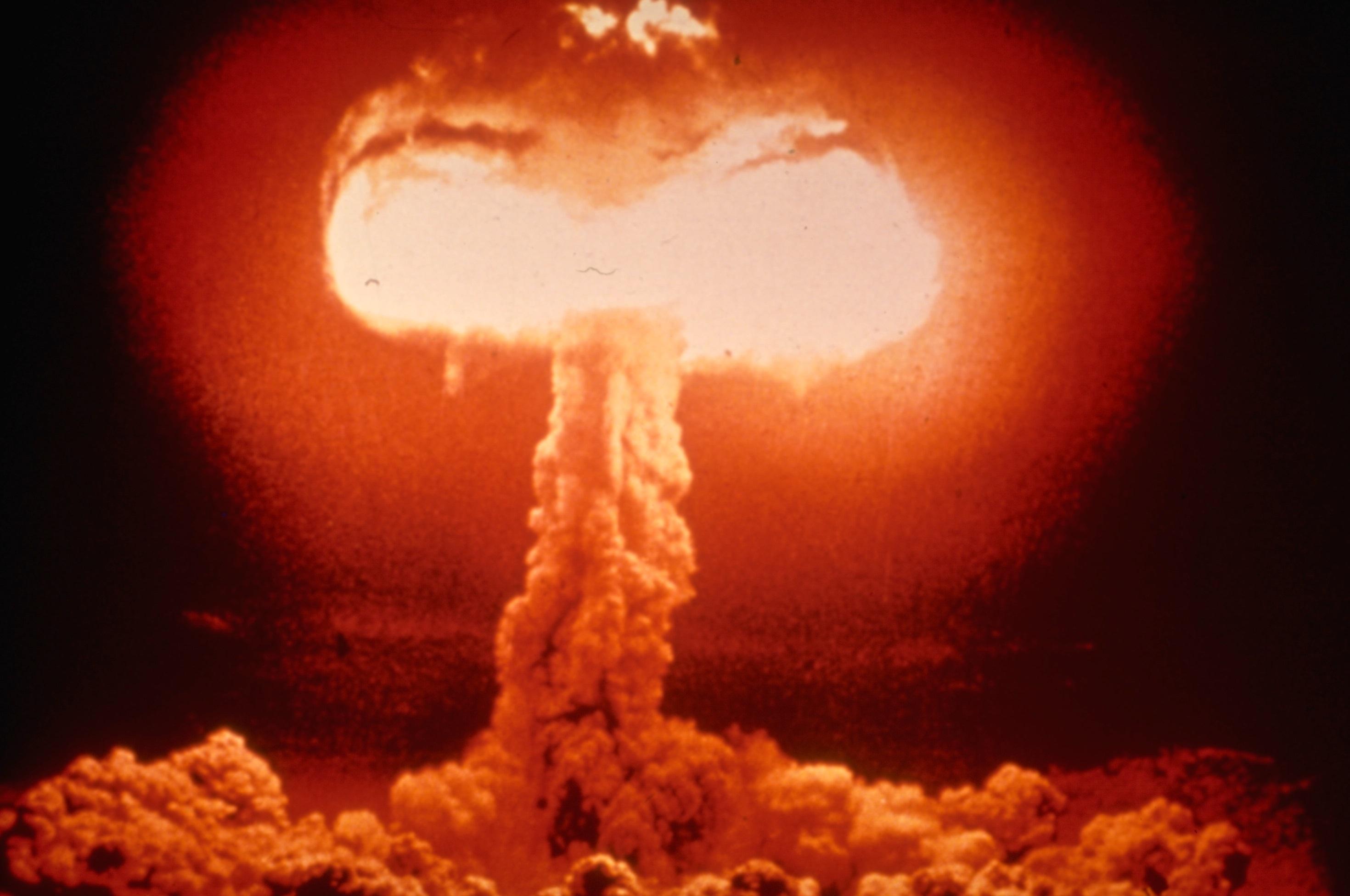 how far was the nuclear arms