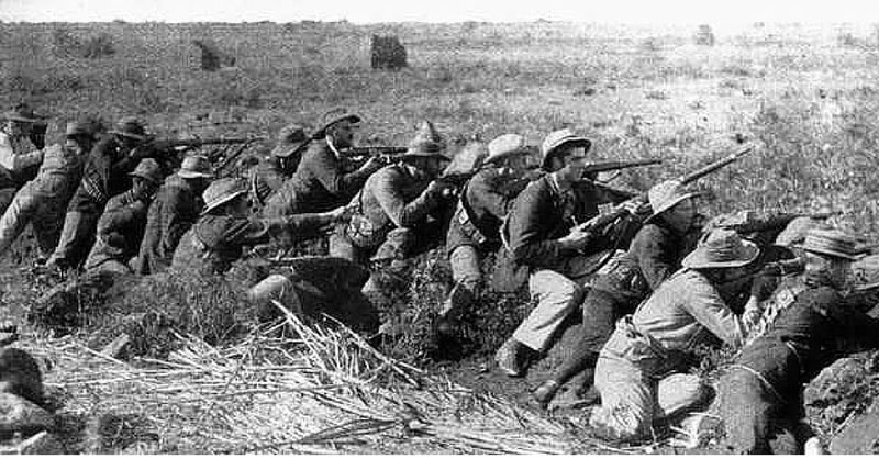 Amazing War Footage Of Soldiers From 1899, When The Second