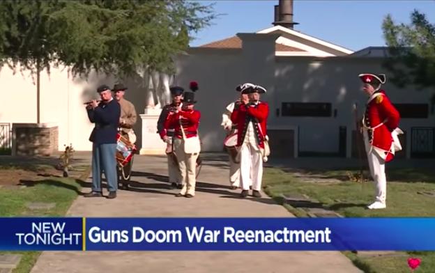 California City Tells Revolutionary War Reenactors: No Guns