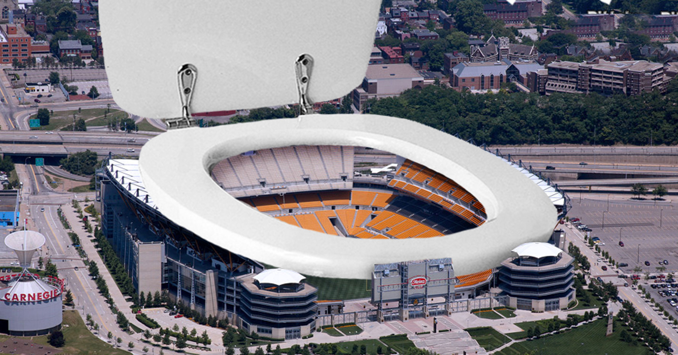 Pittsburgh Steelers Unveil New Retractable Roof For Heinz