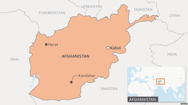 Afghanistan map | RallyPoint