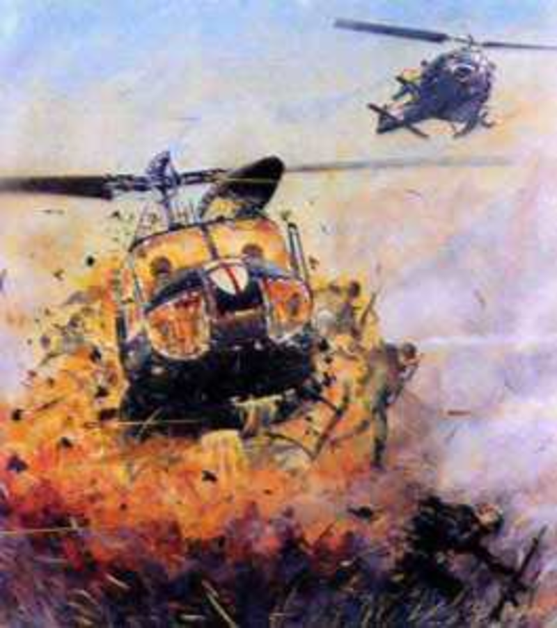 Trial by Fire – A Helicopter Pilot During the Vietnam War