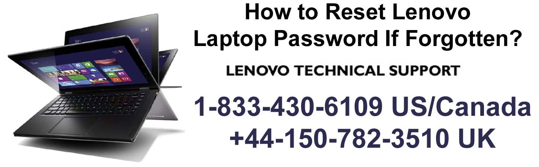 lenovo laptop password reset