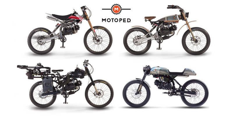 Build your Motoped, is a high-performance cross-breed