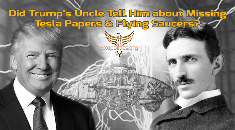 Did Trump's Uncle Tell Him about Missing Tesla Papers & Flying Saucers? |  RallyPoint