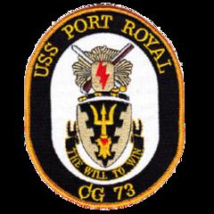 USS Port Royal(CG 73)