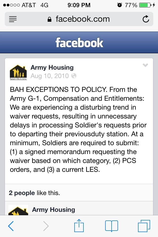 What is needed for a bah waiver and where can i find example of the image altavistaventures Choice Image