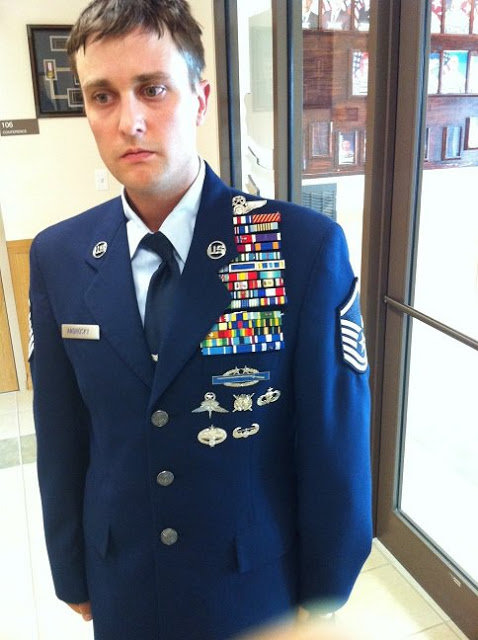 Should I wear my uniform at my sons boot camp graduation if