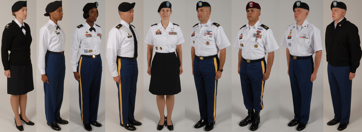 New service uniform regulations