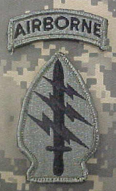 Can you wear the combat patch of a unit you were attached to