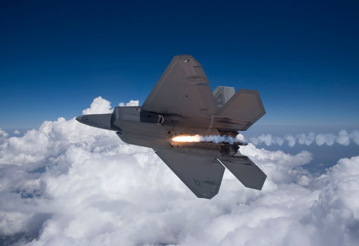F-22's first combat mission is a success  What is its