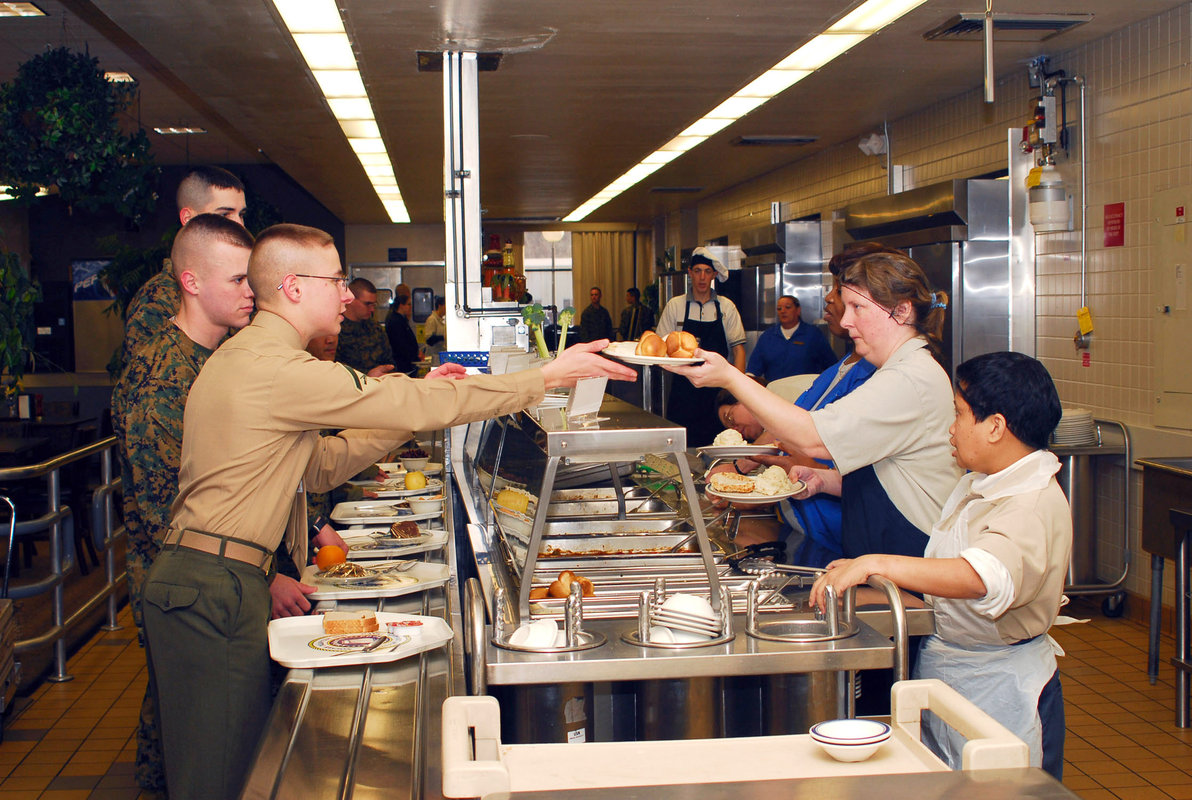 Mess Hall Chow Hall Or Dining Facility What Do We Call