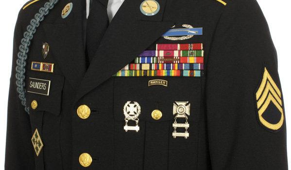 Basic Army Ranks In Order Uniform