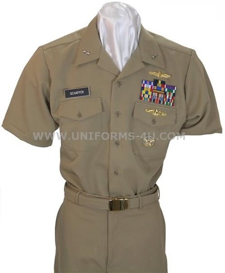 Should the Coast Guard change their uniform to khakis for ...