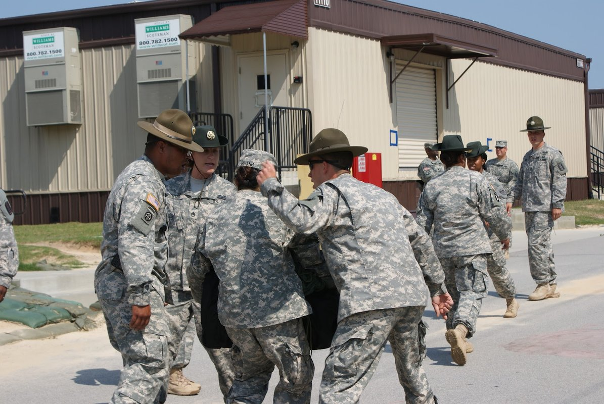 Does Hollering At Service Members In Basic Training Foster