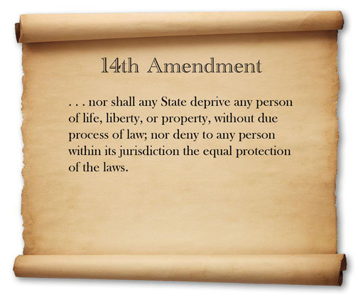Does The 14th Amendment Equal Protection Clause Protect Against Anti Marriage Laws Rallypoint