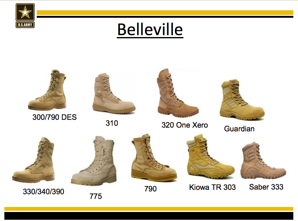 Army Uniform Policy Clarity On Authorized Boots Rallypoint