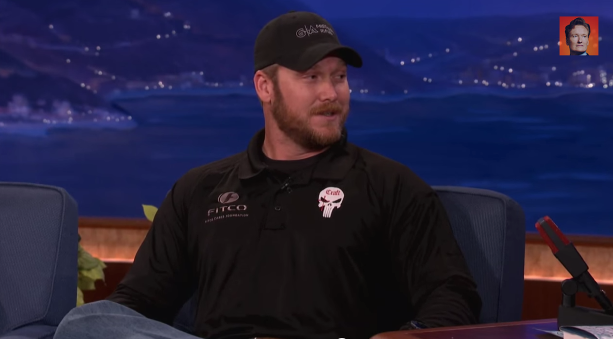 Is Chris Kyle himself the best comeback to critics of American