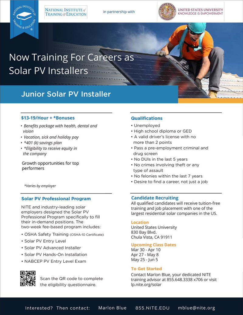 Interested in a career as a solar PV installer? | RallyPoint
