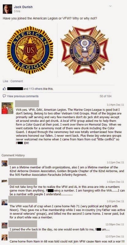 American legion vs vfw