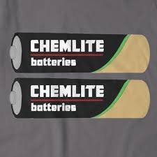 Chemlight batteries