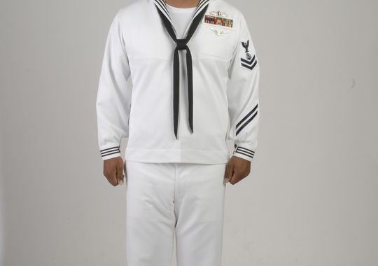 What do you think of the new navy crackerjacks rallypoint for White military dress shirt