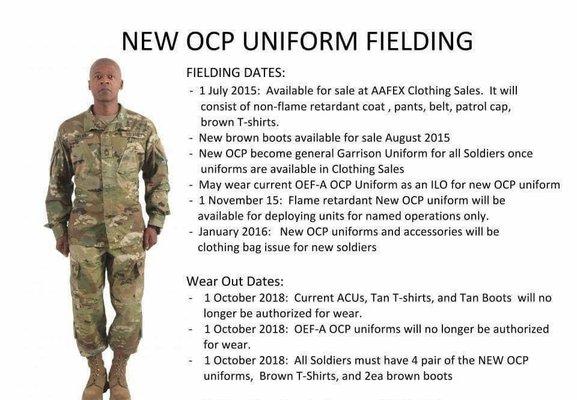 Army Uniform Wear Out Dates 69
