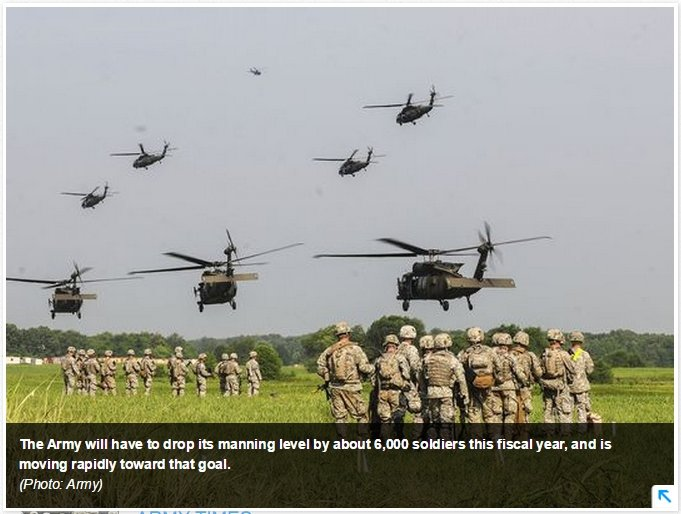 Army Force Reductions for June 2015 - When do we stop? | RallyPoint