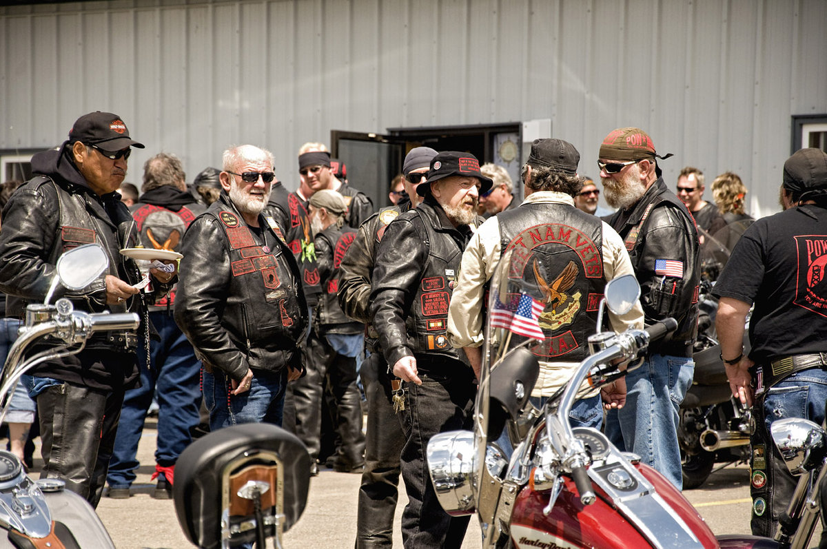 Outlaw Biker Gangs Enlisting Army Guys, What's Wrong With That?